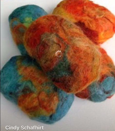 Hand Felted Soap