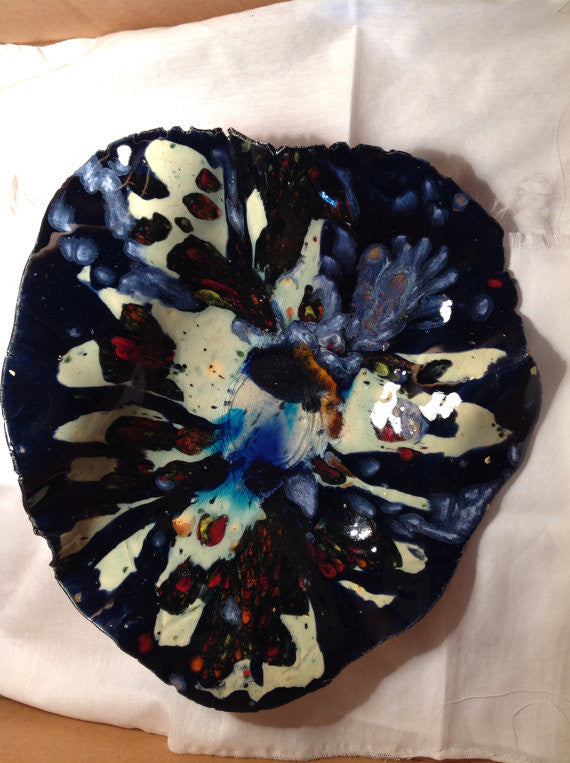 Pottery Art Volcano Bowl (SOLD)