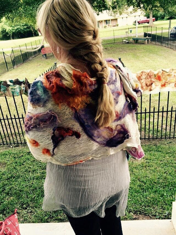 Workshop: Nuno Felted Scarves