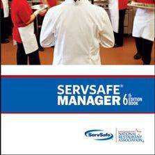 (E) SERVSAFE® Food Manager Certification: Includes Class Instruction + Proctored Exam. DOES NOT INCLUDE BOOK OR EXAM SHEET.