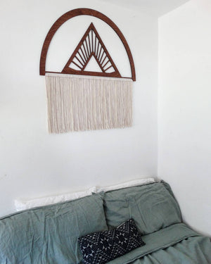 XL Universe macrame tapestry