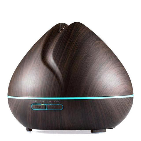 Living Zenzes Dark Wood Aroma Diffuser Dahlia - 500 ml - 2 Wood kleuren