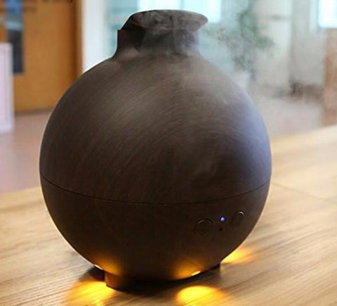 Living Zenzes Dark wood Aroma Diffuser Mirthe - 600 ml - 2 Kleuren