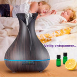 Living Zenzes Dark wood Aroma Diffuser Tulp 500 ml - Licht of donker hout
