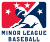 The official logo of Minor League Baseball