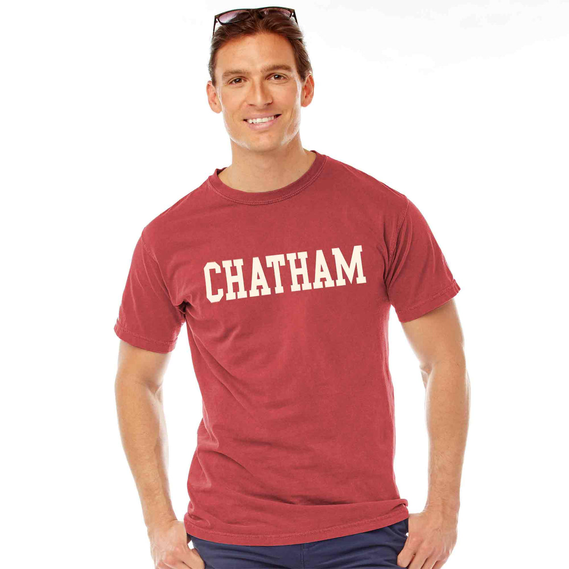 Men's Crimson Chatham T-Shirt