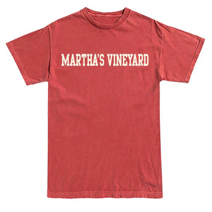 Men's Crimson Martha's Vineyard  T-Shirt