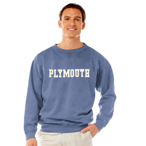 Men's Denim Plymouth Crew Neck Sweatshirt