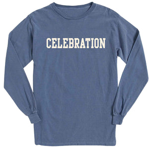 Men's Denim Long Sleeve Celebration T-Shirt