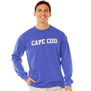 Men's Periwinkle Long Sleeve Cape Cod T-Shirt