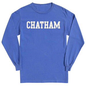 Men's Periwinkle Long Sleeve Chatham T-Shirt