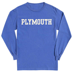Men's Periwinkle Long Sleeve Plymouth T-Shirt