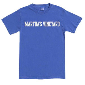 Men's Periwinkle Martha's Vineyard  T-Shirt