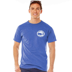Men's Cape Cod Whale Decal Short Sleeve T-Shirt