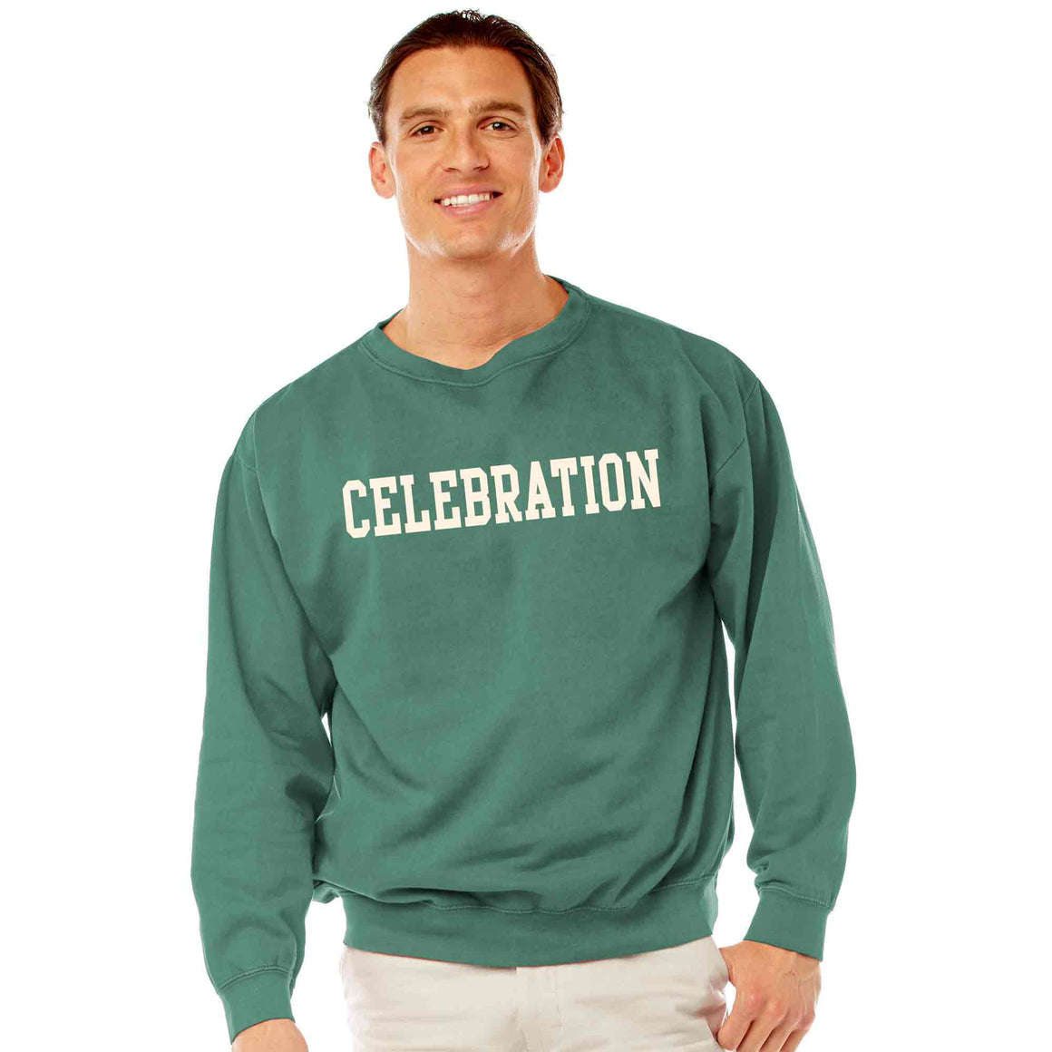 Men's Willow Celebration Crew Neck Sweatshirt