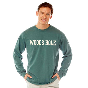 Men's Willow Long Sleeve Woods Hole T-Shirt