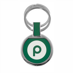 Double Ring Keytag