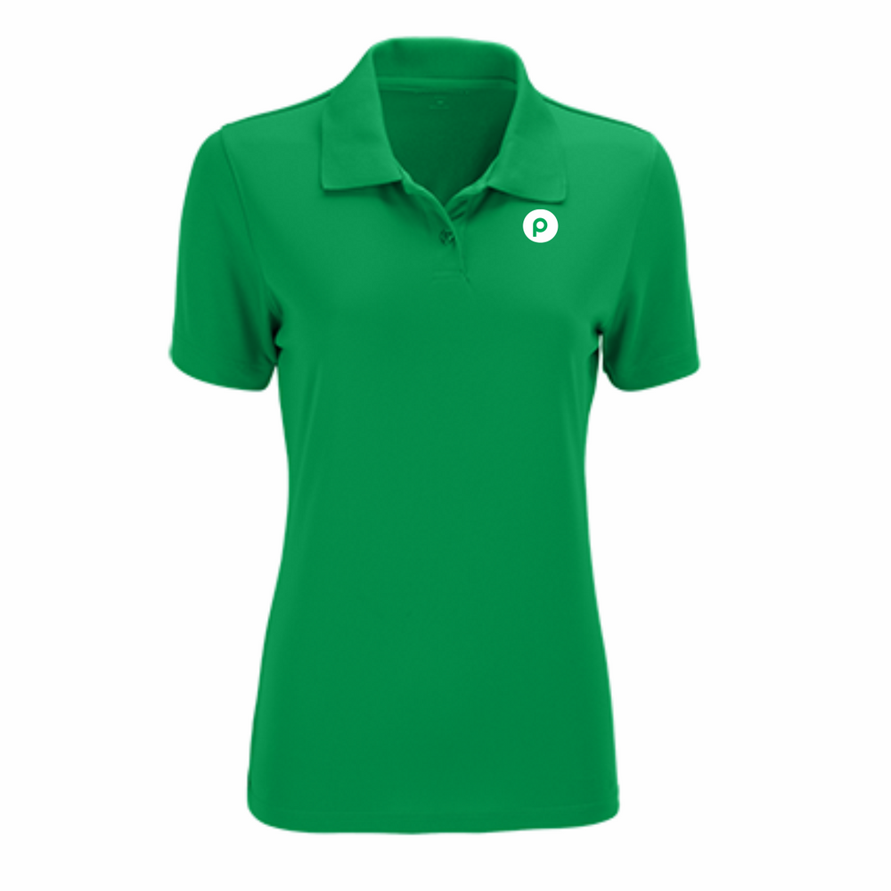 Ladies Vansport™ Omega Solid Mesh Tech Polo