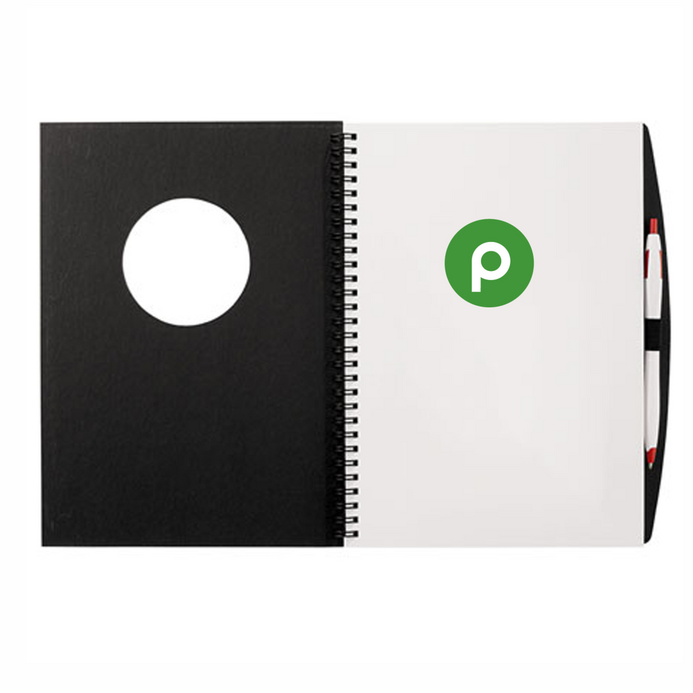 Frame Circle Large Hardcover JournalBook™