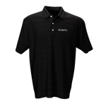 *Strata Textured Polo - 2 Color Choices (SILVER OR BLACK)