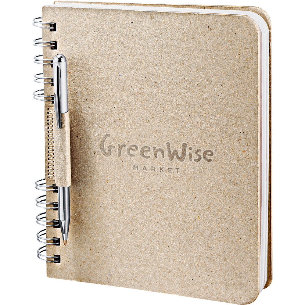*GreenWise Recycled Cardboard Spiral JournalBook™