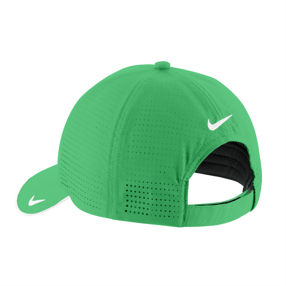 Nike Dri-FIT Swoosh Perforated Cap - Lucky Green