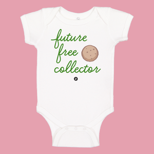 Future Free Cookie Collector Infant Onesie-Green
