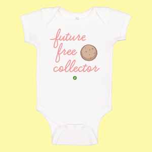 Future Free Cookie Collector Infant Onesie-Pink