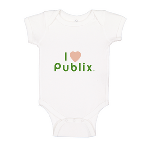 I Heart Publix Fruity Infant Onesie
