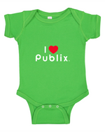 I Heart Publix Infant Onesie - Green