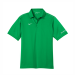 Nike Dri-FIT Sport Swoosh Pique Polo - Lucky Green