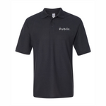Men's Easy Care Polo in Black with Publix Logo