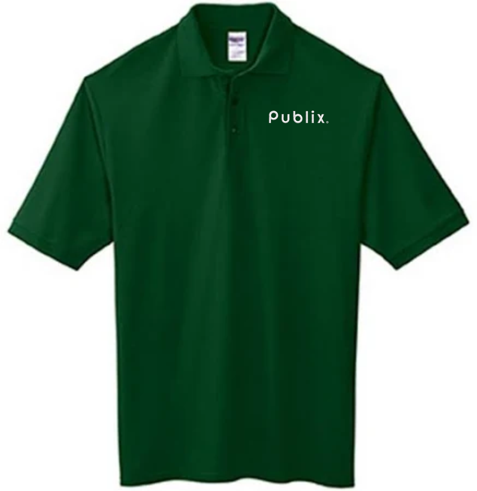 Men's Easy Care Polo - Forest Green
