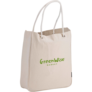 GreenWise 6 oz. Organic Cotton Canvas Carry-All Tote