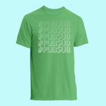 NEW! #PUBSUB Lightweight Ringspun T-Shirt: Green