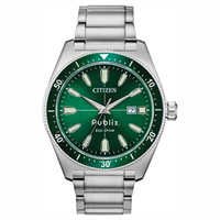 Citizen Men's Green Face Eco-Drive Watch