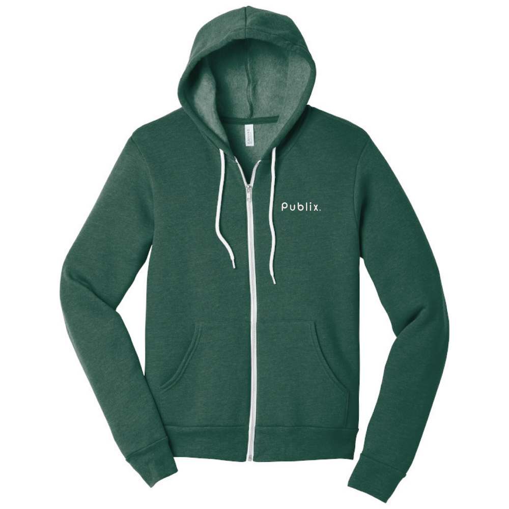 BELLA+CANVAS ® Unisex Sponge Fleece Full-Zip Hoodie