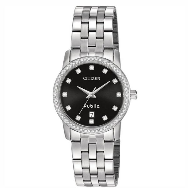 Citizen Ladies' Quartz Watch With Swarovski Crystals - this item will ship the week of November 26th, 2018.