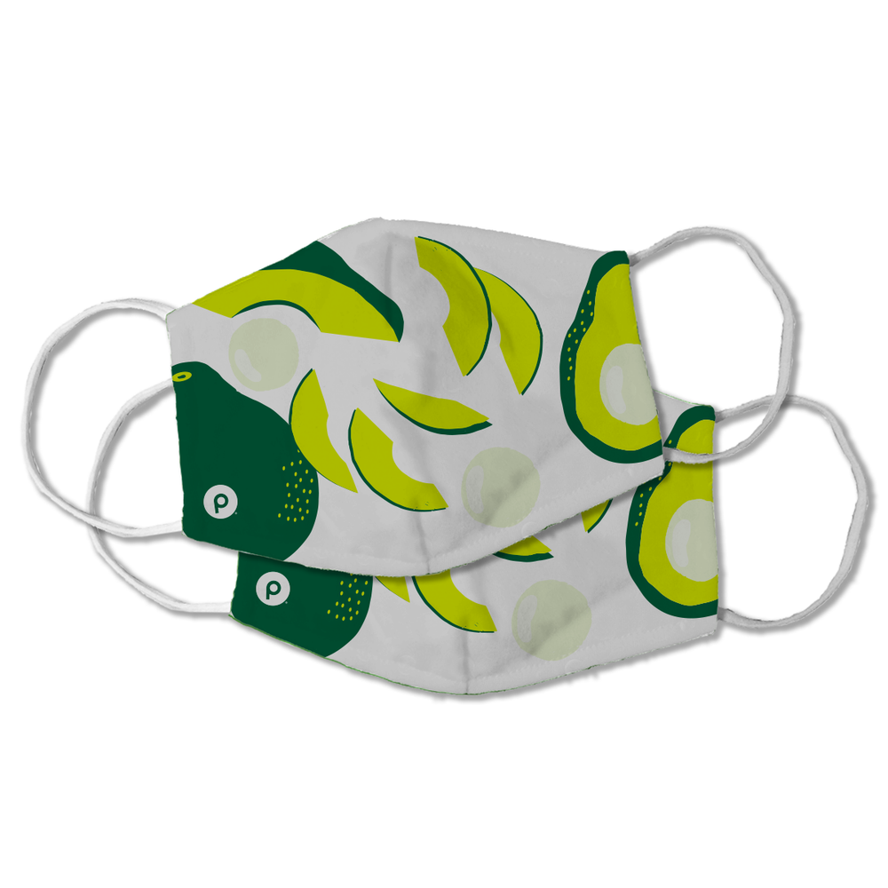 Publix Avocado Masks PACK OF TWO