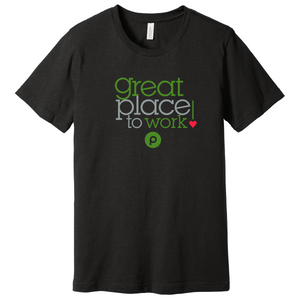 Great Place to Work! T-shirt - Black Heather