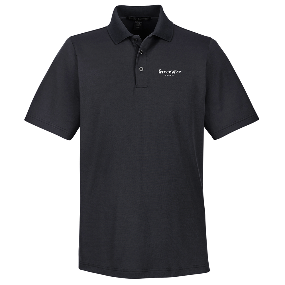 *GreenWise Devon & Jones CrownLux Performance™ Men's Plaited Polo