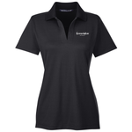 *GreenWise Devon & Jones CrownLux Performance™ Ladies' Plaited Polo