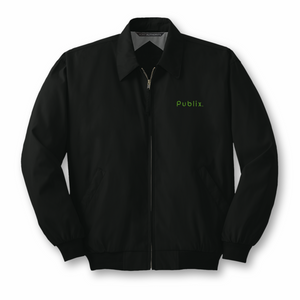 Men's Port Authority Casual Microfiber Jacket - Black