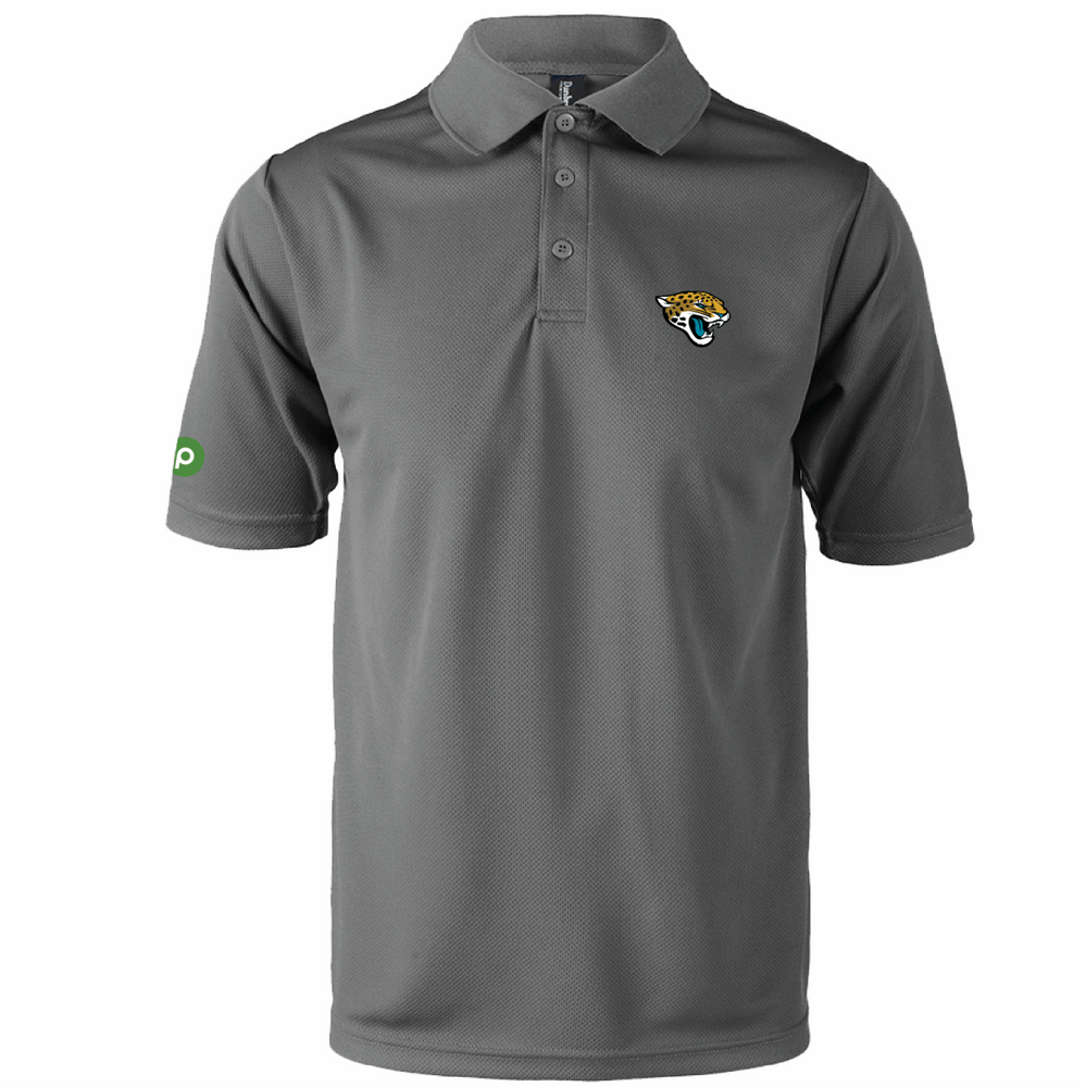 Clearance - Jaguars Moisture Wicking Team Polo