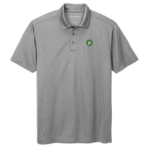 Port Authority® Heathered Silk Touch™ Performance Polo