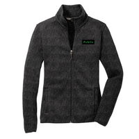 Port Authority®Ladies Sweater Fleece Jacket