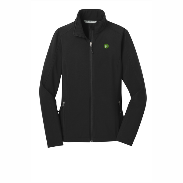 Ladies Black Core Soft Shell Jacket by Port Authority