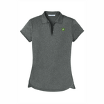 Port Authority® Ladies Trace Heather Polo - Charcoal