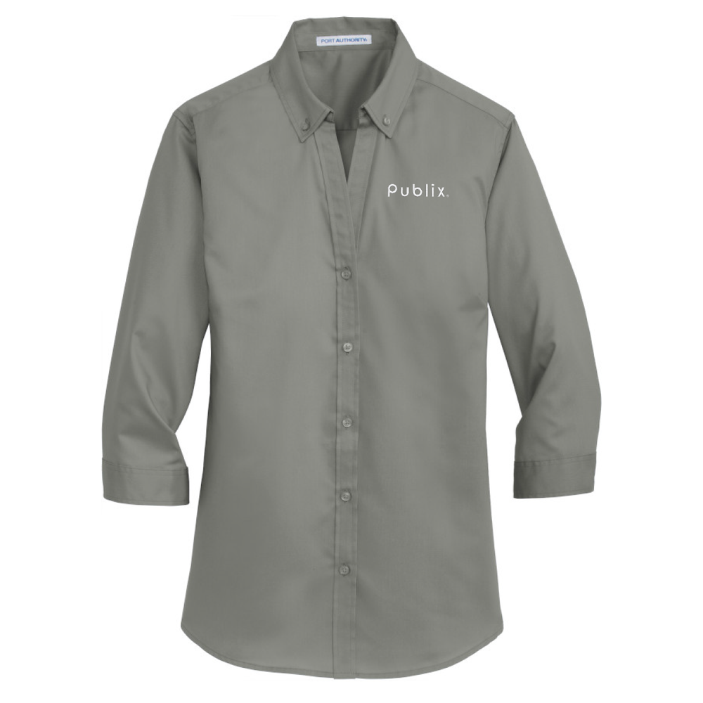 Ladies 3/4-Sleeve SuperPro™ Twill Shirt