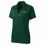 Sport-Tek® Ladies Heather Contender™ Polo - Forest Green Heather